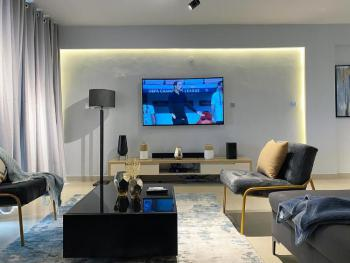 Ocean View Luxury 3 Bedroom Apartment W/pool & Private Balcony, Admiralty Close, Lekki Phase 1, Lekki, Lagos, Flat / Apartment Short Let