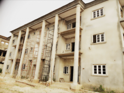 6 Flats of 3 Bedrooms and 1 Bq Each in a Terrace House Under Construction, Behind Apo Legislative Quarters Extension B Gudu By Davids Cresent, Apo, Abuja, Flat / Apartment for Sale