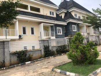Diplomatic 5 Bedroom Serviced Duplex with Bq, 3 Sitting Rooms, Guzape District, Abuja, Terraced Duplex for Rent