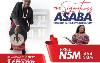 The Signatures, The Signatures Estate, Ugbolu, Asaba, Delta, Mixed-use Land for Sale
