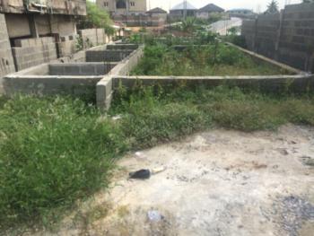 Uncompleted 4 Bedrooms Detached Duplex Foundation, Olayinka Jumbo Street Off Dele Kuti, Ebute, Ikorodu, Lagos, Detached Duplex for Sale