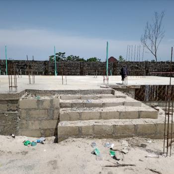 Elegantly Well Developed Duplex, Watchtower Road Bogije Lekki, Bogije, Ibeju Lekki, Lagos, Semi-detached Duplex for Sale