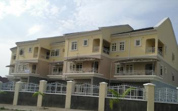 Exceptional Serviced 4-bedroom Terraced Duplex with Bq, Kado, Abuja, Terraced Duplex for Rent