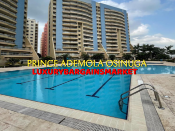 Waterfront 3 Bedroom Apartment + Tennis+pool, Banana Island Estate, Banana Island, Ikoyi, Lagos, Flat / Apartment for Sale