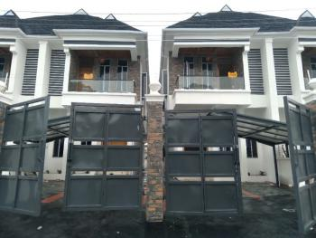 Brand New 4-bedroom Semi-detached House with Bq, 2nd Tollgate, Lekki, Lagos, Semi-detached Duplex for Rent