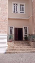 Newly Built  9 Bedroom Duplex with 1 Bedroom Guest Chalet, 2 Rooms Servants Quarters, Elevator, Gym Room, Off Ibb Way, Maitama District, Abuja, Detached Duplex for Sale