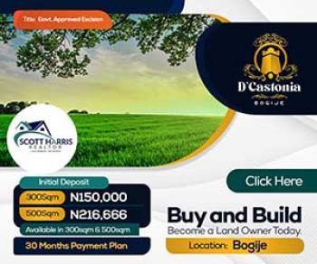 D Castonia, Bogije, Ibeju Lekki, Lagos, Mixed-use Land for Sale