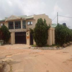 4 Bedroom Duplex with Large Space, Kado Estate, Kado, Abuja, Semi-detached Duplex for Sale
