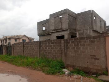 Solid and  Uncompleted 2 Wings Detached Duplex, Within Odutola Estate, Command Area, Abule Egba, Agege, Lagos, House for Sale
