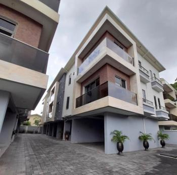 Luxurious Fully Serviced 4 Bedroom Terrace Duplex with a Room Bq, Old Ikoyi, Ikoyi, Lagos, Semi-detached Duplex for Rent