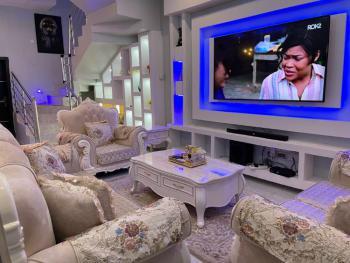 Super Furnished 4-bedroom Duplex, Oral Estate,opposite Elegansa Building,lekki 2nd Tollgate,lekki Phase2, Lekki, Lagos, Detached Duplex Short Let