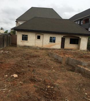 3 Bedroom Bungalow and a Foundation of 4 Flats, Amoji Nike, Enugu, Enugu, Detached Bungalow for Sale