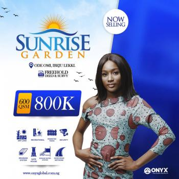 Land. in a Very Secured and Serene Environment, Sunrise Garden Estate, Ode Omi, Ibeju Lekki, Lagos, Mixed-use Land for Sale