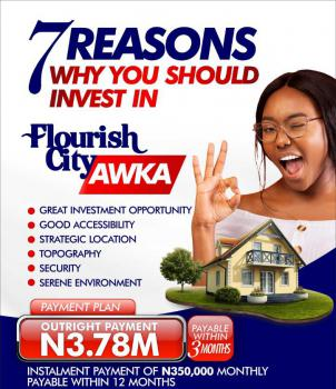 Land, Flourish City, Awka - Enugwu Agidi Road, Awka, Anambra, Residential Land for Sale