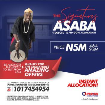 Land, The Signatures, Ugbolu, Asaba, Delta, Residential Land for Sale
