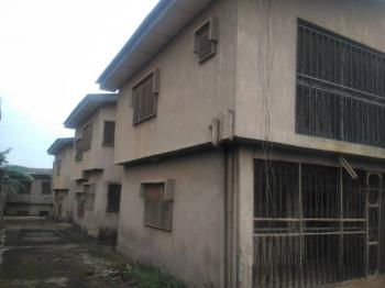 a Well Maintained and Distressed 4 Nos of 3 Bedroom Flat Each, Asolo Ishawo Road, Agric, Ikorodu, Lagos, Block of Flats for Sale