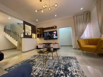 Nathan 4 Bedroom Luxury Terraced Duplex, Dupe Oguntade Street, Ikate Elegushi, Lekki, Lagos, Terraced Duplex Short Let